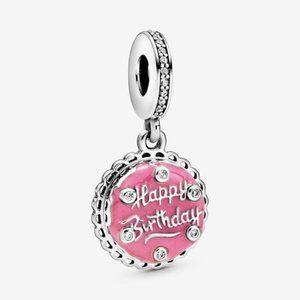 Pandora Pink Birthday Cake Charm